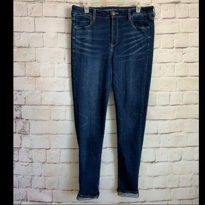 American Eagle Super Stretch Jeggings High Rise 14